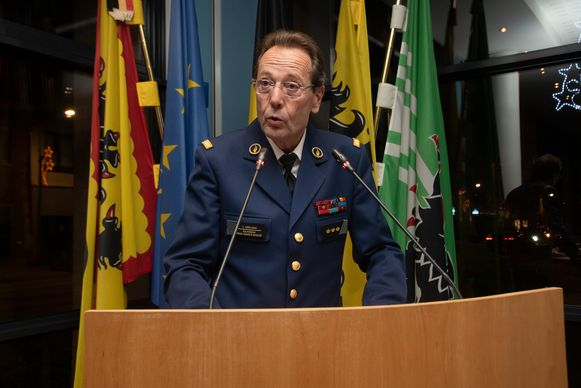 Zonechef Yves Asselman politiezone Schelde en Rhode.