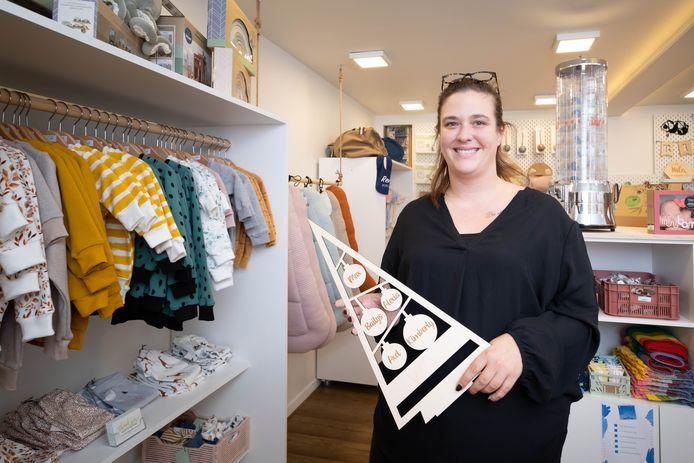 PUURS In haar pop-up store Belle Ella verkoopt Yana Vleminck babyspullen