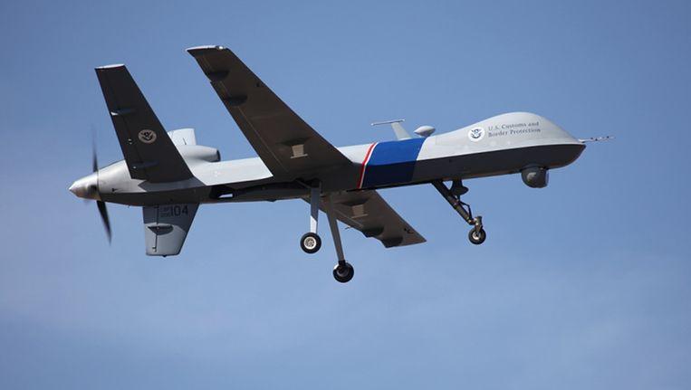 Een Amerikaans onbemand vliegtuig Beeld ap