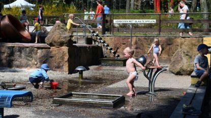 Zoetwaterpark omgetoverd tot speelparadijs
