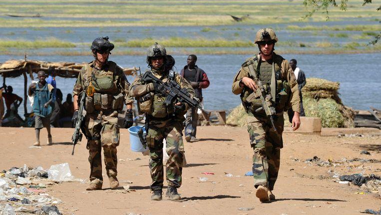 VN-troepen in Mali. Beeld AFP