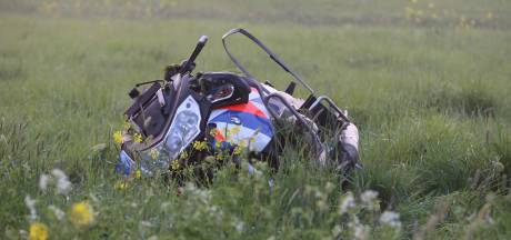 Motoragent raakt onderweg naar ongeval bij Zaltbommel zelf zwaargewond