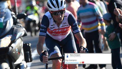 """Nibali en Evenepoel gooien bloemen naar elkaar: """"Ik vind Remco leuk, hij kan de grote verrassing worden in de Giro"""""""