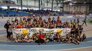 Jeugdatleten ACG en ACG-kern Zottegem kleuren feestdag Vlaamse Atletiekliga