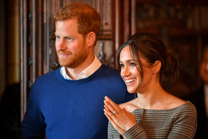 Prins Harry en Meghan Markle.