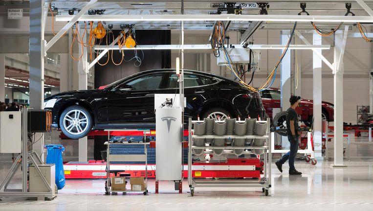 Tesla heeft al een fabriek in Nederland, in Tilburg. Beeld anp