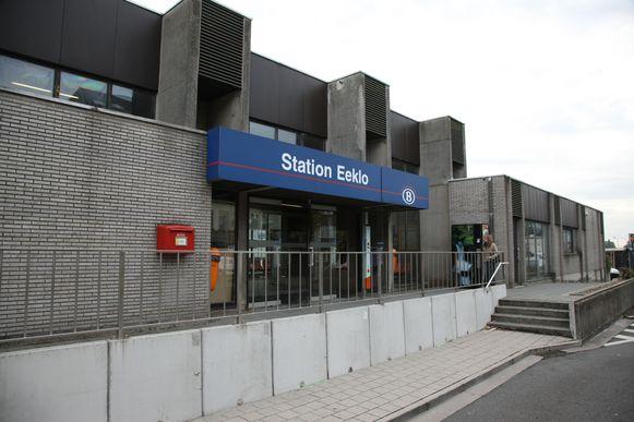 Het station van Eeklo is vandaag een eindstation.