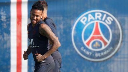 """Neymar traint weer mee bij PSG, maar """"zolang de situatie rond zijn toekomst niet duidelijk is, speelt hij niet"""""""