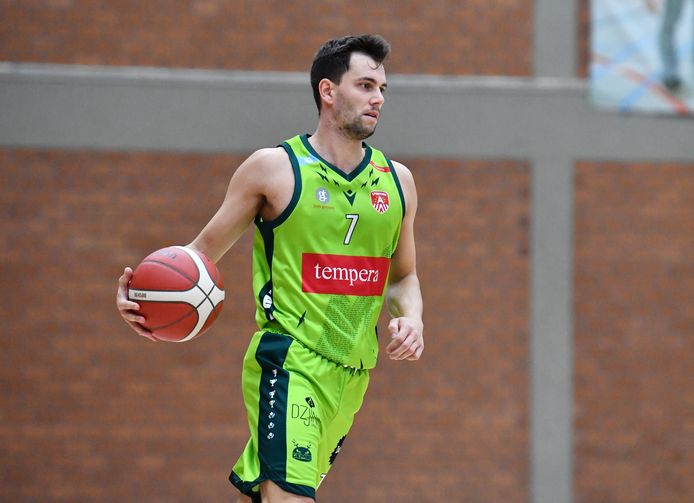 Anthony Goetgeluck was met 28 punten en 6 assists de absolute uitblinker bij Gembo. @Mpics.