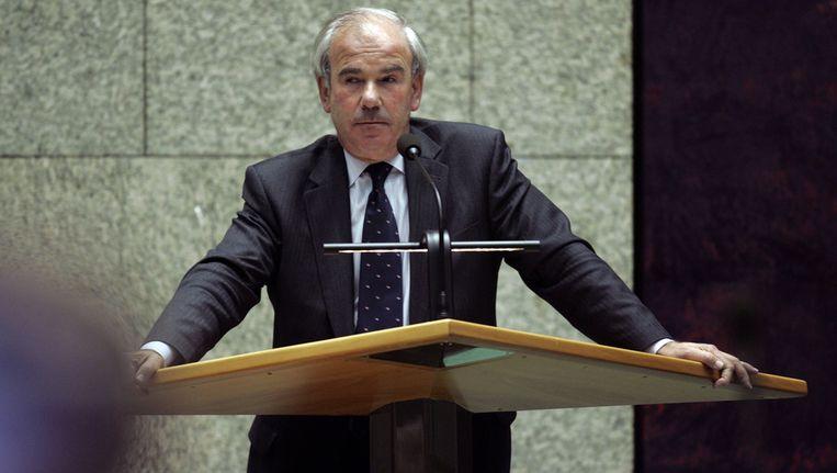 Oud-Kamervoorzitter Frans Weisglas. Foto © ANP Beeld