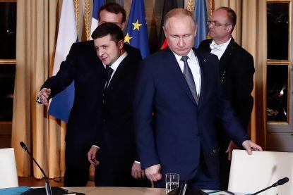 Een dag na topoverleg vreest Poetin nieuw 'Srebrenica' in Oekraïne
