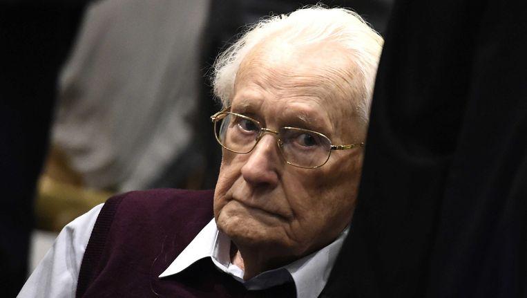 Oskar Gröning (94) Beeld null