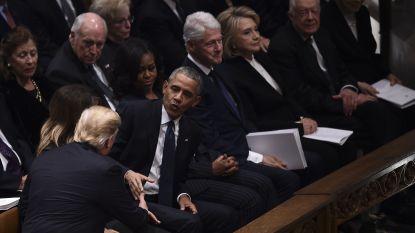 Liplezer onthult wat er gezegd werd tijdens begrafenis president George H.W. Bush