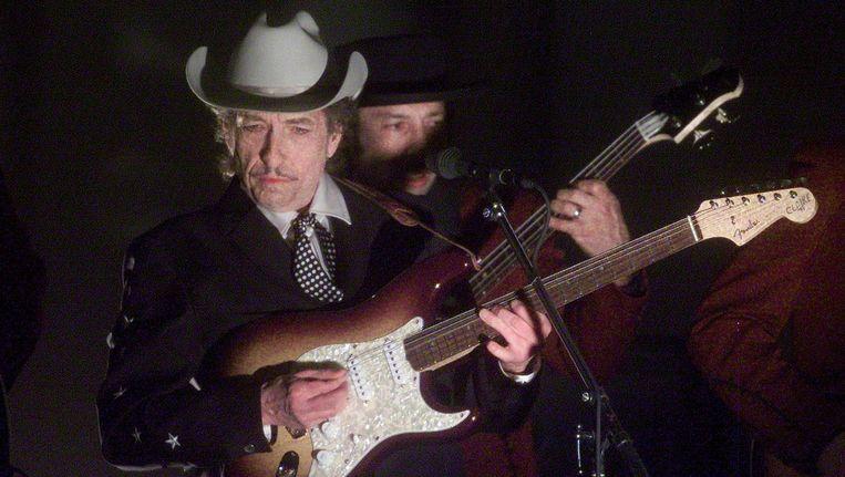 Bob Dylan in 2002 Beeld anp
