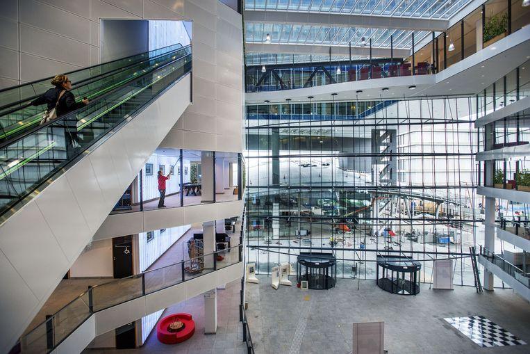 Het nieuwe Stadskantoor van Utrecht. Beeld Raymond Rutting