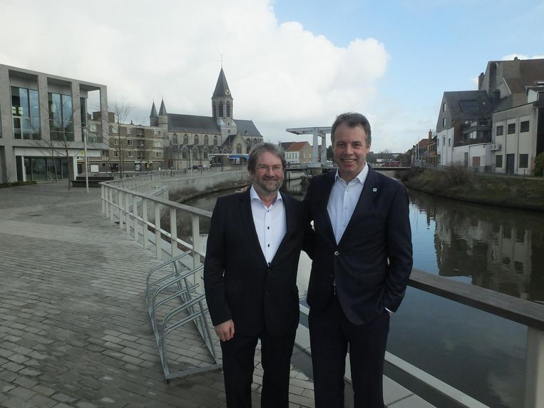Johan Cornelis en Jan Vermeulen, de bouwmeesters van de nieuwe fusiestad.