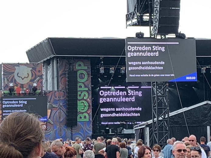 Sting Komt Naar Nederland.Vrees Bospop Wordt Waarheid Sting Zegt Twee Uur Voor