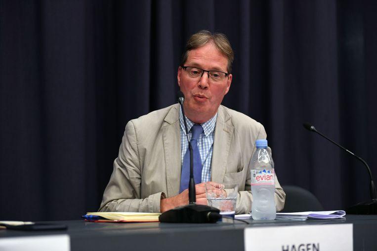 Hagen Goyvaerts (Vlaams Belang) wil de Leuvense identiteit beschermen.