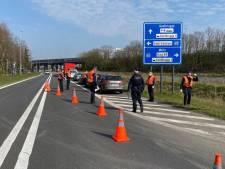 Politie controleert actief op 'niet-essentiële verplaatsingen'