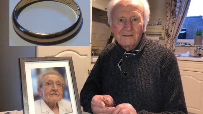 """Inbrekers aan de haal met gouden trouwring van overleden echtgenote van Louis (92): """"Kans om die terug te vinden is klein, maar je weet nooit"""""""