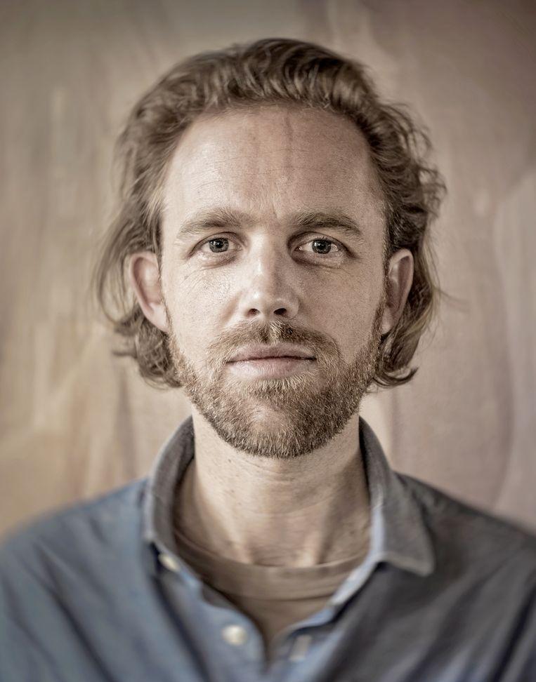 Netherlands. Amsterdam, 02-04-2015. Photo: Patrick Post. Portret van Wouter Mensink. Beeld Patrick Post