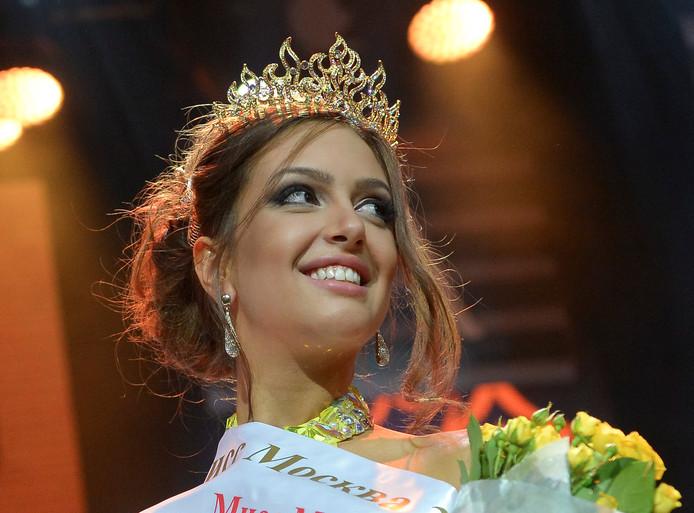 Oksana werd in juni 2015 gekroond tot Miss Moskou.