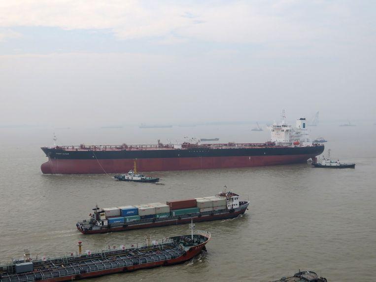De Iraanse olietanker Front Altair (foto ter illustratie). Beeld EPA