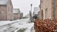 Eerste sneeuwvlokken in de regio Dendermonde