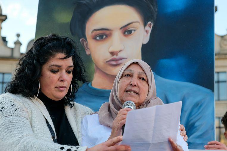 mars voor Mehdi: moeder van Mehdi