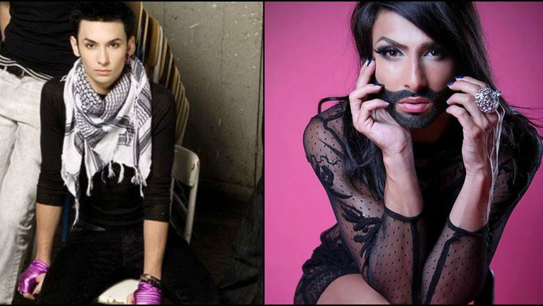 Tom Neuwirth vs Conchita Wurst.