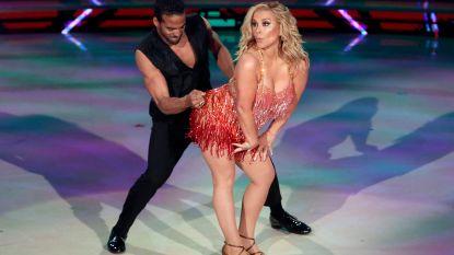 Oeps: Anastacia laat meer zien dan ze wilde in dansprogramma