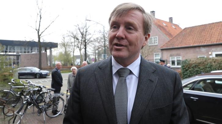 Koning: 'Dankbaar voor de hulpverleners in Utrecht'