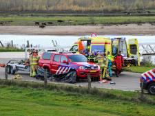 Vrouw gereanimeerd nadat ze bij Deventer in de IJssel belandde