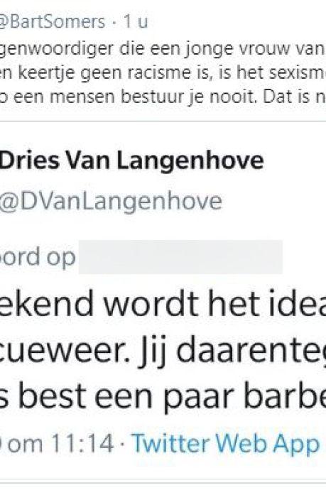 Omstreden Belgisch parlementslid (27) opnieuw onder vuur na bodyshamen tiener
