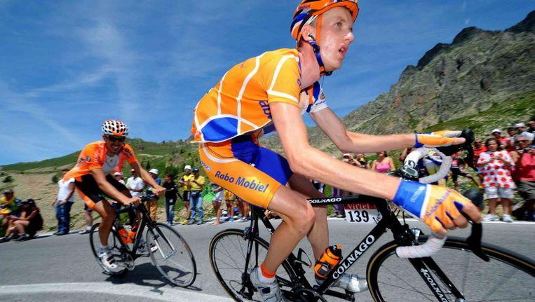 Pieter Weening won in 2005, als laatste Nederlander, een etappe in de Tour de France. ©PRO SHOTS Beeld