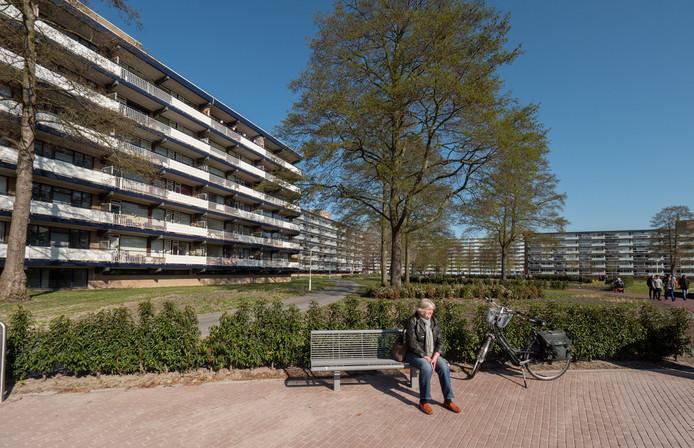 Het Willem-Alexanderplantsoen in Driemanspolder. De wijk is onderwerp van de Techathon.