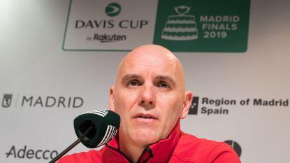 """België begint aan nieuwe formule van Davis Cup: """"Gaan voor groepswinst"""""""