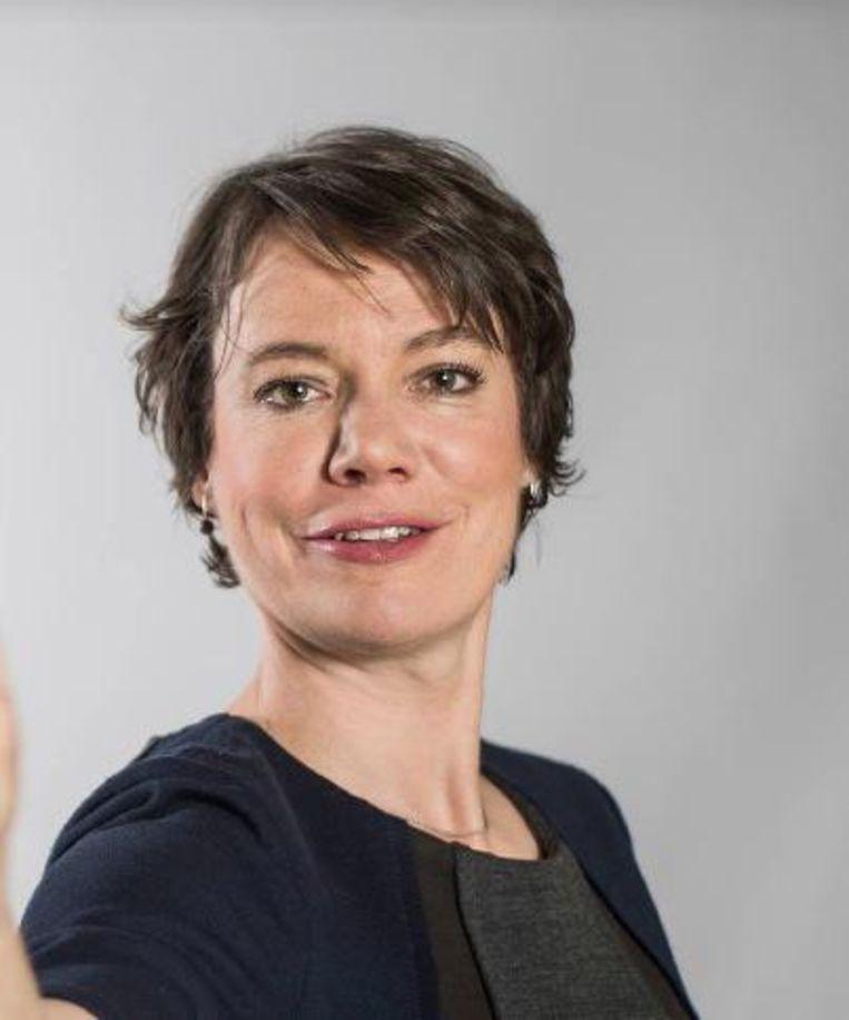 Burgemeester Liesbeth Verstreken (N-VA).