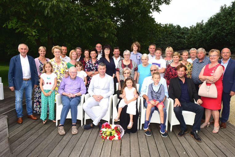 Feest bij de familie Meert