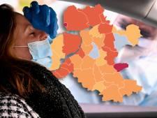 KAART | Urk voor het eerst sinds lange tijd niet coronakoploper en Hattem en Heerde staan op nul