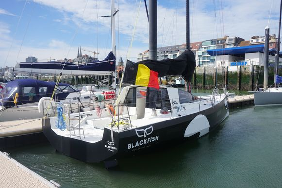 Met zeilboot Blackfish wordt mee onderzoek gedaan naar microplastics en vismigratie