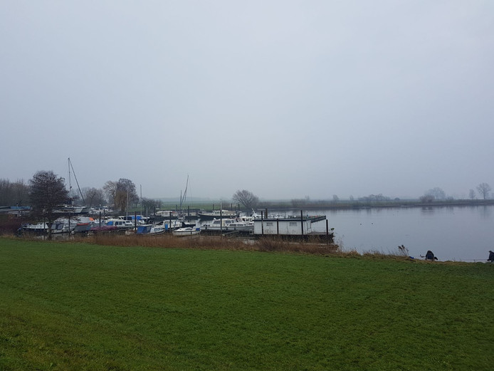De haven van Alphen.