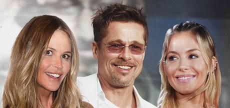 Brad Pitt lijkt het voor het kiezen te hebben