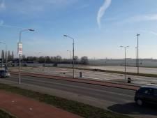 Water loopt weg, helaas geen ijsbaan op Waalkade Tiel