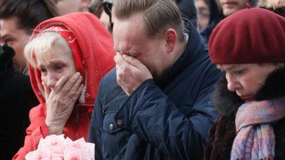 """Vader die gezin verloor in brandend winkelcentrum is woedend: """"Poetin is verantwoordelijk voor gebrekkige maatregelen"""""""