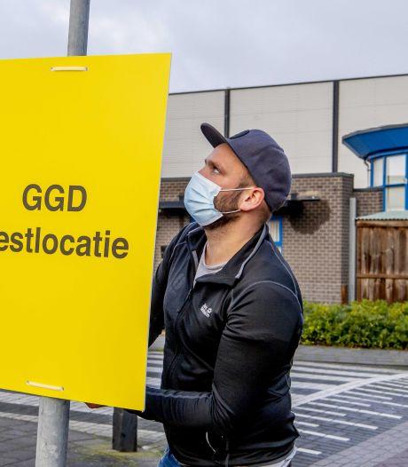 Stuk minder positieve tests, veruit meeste besmettingen binnenshuis
