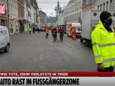 Auto rijdt in op voetgangers in Duitse stad Trier: Twee doden en tien gewonden