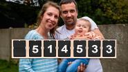 """LIVE. Sms-actie voor baby Pia zit over de helft met 514.533 berichtjes: """"Hier zijn geen woorden voor"""""""