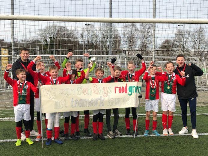 Ongekroonde Kampioenen: Bon Boys JO12-1