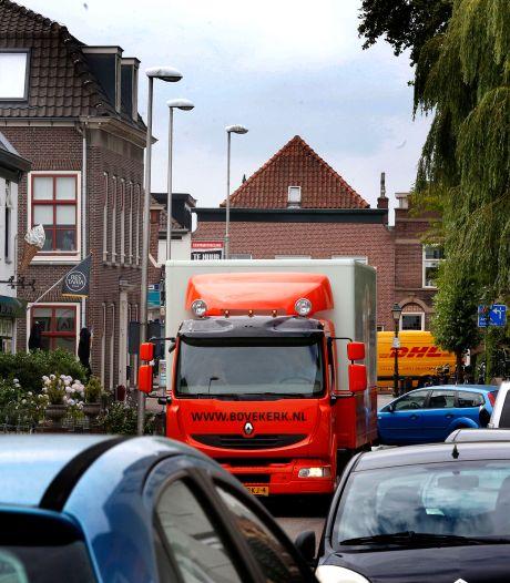 Vrachtwagens blijven buiten de spits welkom in Meerkerk